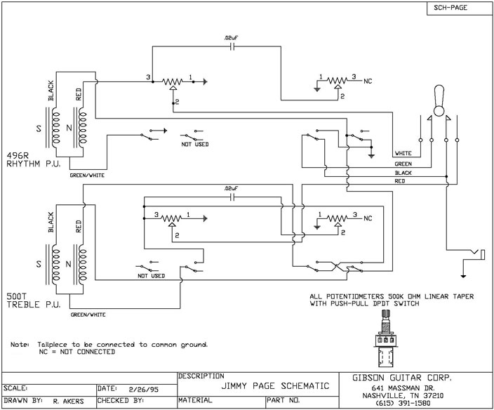 higgs communications - jimmy page les paul wiring schematic  higgs communications