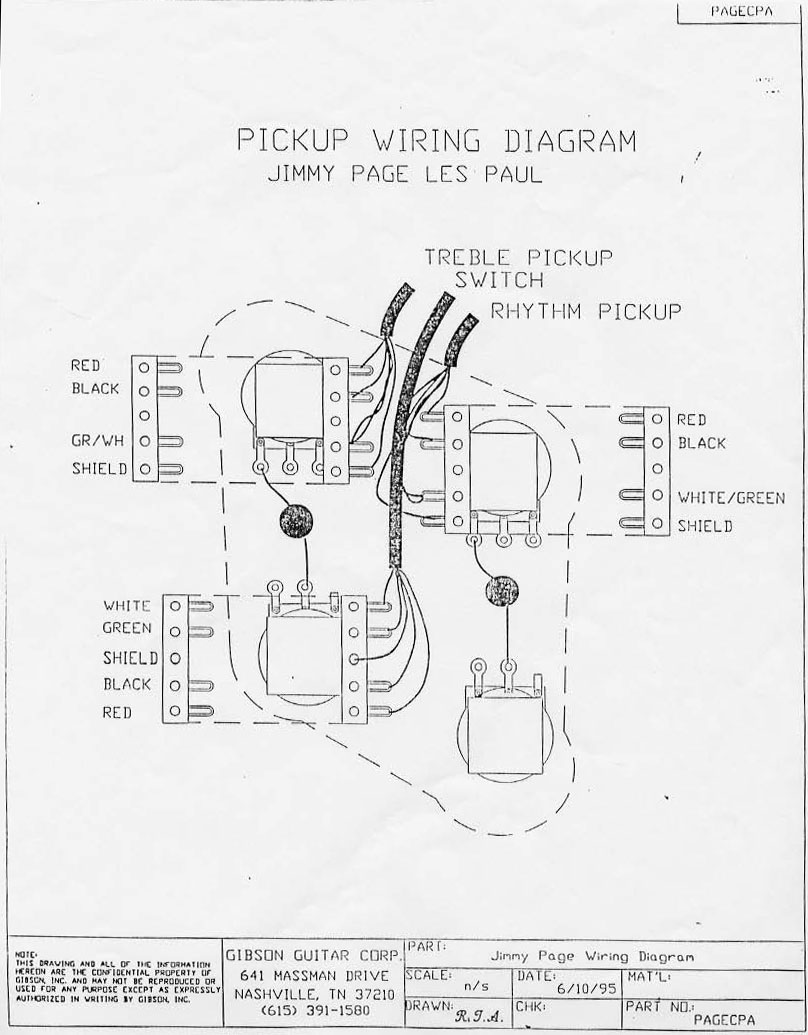 Higgs Communications Jimmy Page Les Paul Wiring Diagram - Gibson wiring diagrams